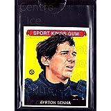 Ayrton Senna Hockey Card 2008 Sportkings Mini #75 Ayrton Senna