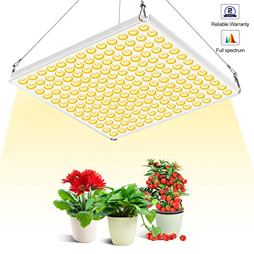 Grow Light 75W Full Spectrum Led Plant Light 3500K Sunlike Plant lamp with UV IR Bulbs for Indoor Plants Hydroponics Vegetables Flowers from Seedlings to Blooming & Fruiting (Vegetable Indoor Plants)