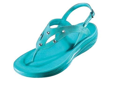 a4fc5d34a90925 Walk Maxx Fitness Sandale Ocean Crystal Gr. 36 Sommer Schuhe  Amazon ...