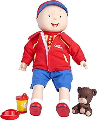 """Caillou Best Friend Trilingual Talking Doll, English/French / Spanish, 15"""""""