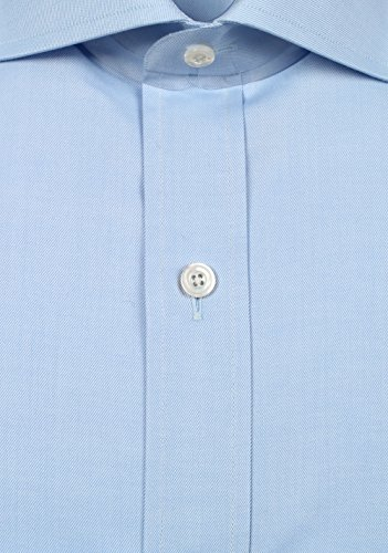 CL - TOM FORD Solid Blue Shirt Size 39 / 15,5 U.S.