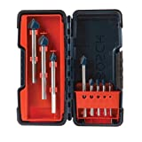 Bosch 8 Piece Glass and Tile Bit Set with Storage Case GT3000