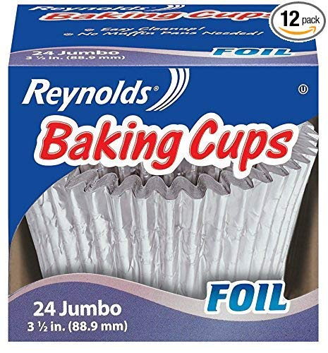 Reynolds Baking Cups, Jumbo, 288 Cups, 12 Count (1 Unit)