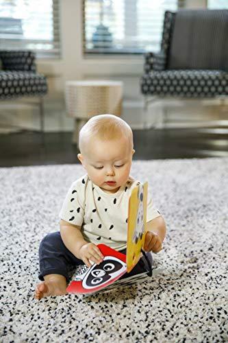 51oKaqO47qL - Baby Einstein Flip for Art High Contrast Floor Activity Mirror with Take Along Cards, Newborn+