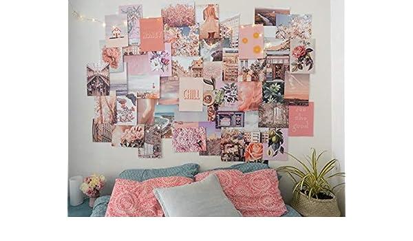 Amazon Com Peachy Pink Collage Kit Handmade