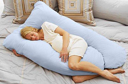 Today's Mom Cozy Comfort Pregnancy Pillow, Espresso