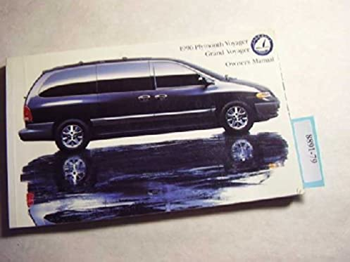 1996 plymouth voyager owners manual plymouth motors amazon com books rh amazon com 1996 Plymouth Voyager Relay Placement 1996 Plymouth Grand Voyager