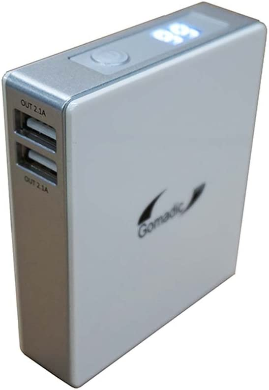 HC-V130 Gomadic High Capacity Rechargeable External Battery Pack Suitable for The Panasonic HC-V160