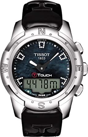 Image Unavailable. Image not available for. Color  Tissot T-Touch II Titanium  Women s Watch ... 234420e6c