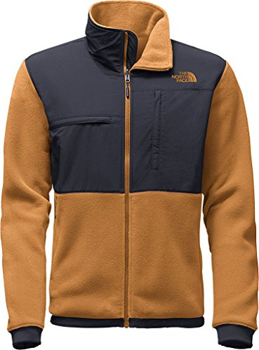 The North Face Mens Denali 2 Jacket,Recycled Dijon Brown/Urban Navy,US (The North Face Denali Mens)