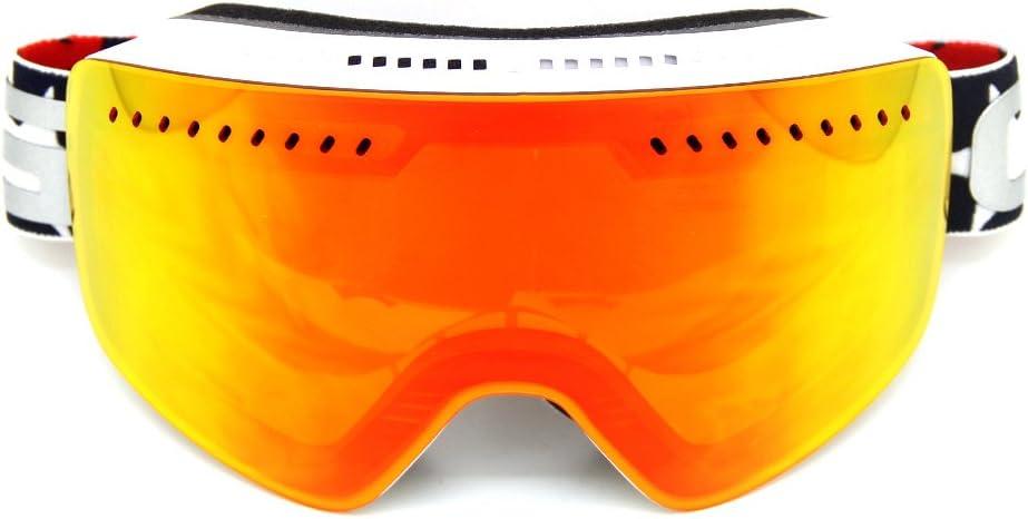 CRG-ATV Anti-Fog Ski Goggles Snowboard Snowmobile Snow Goggles for Men Women