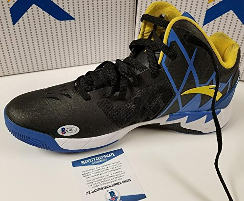 c8bd9968a054d Klay Thompson Autographed Signed Anta Kt 1 Road Shoes Beckett ...