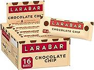 Larabar Gluten Free Chocolate Chip Fruit and Nut Energy Bar, 16-Count, 720 Gram