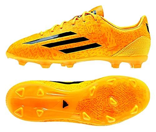 Adidas F50 Adizero Junior Lionel Messi Soccer Cleat (Solar Gold) Sz. 6 (Ball Adidas Messi F50 Soccer)