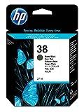 HP 38 Matte Black Pigment Original Ink Cartridge (C9412A) DISCONTINUED BY MANUFACTURER
