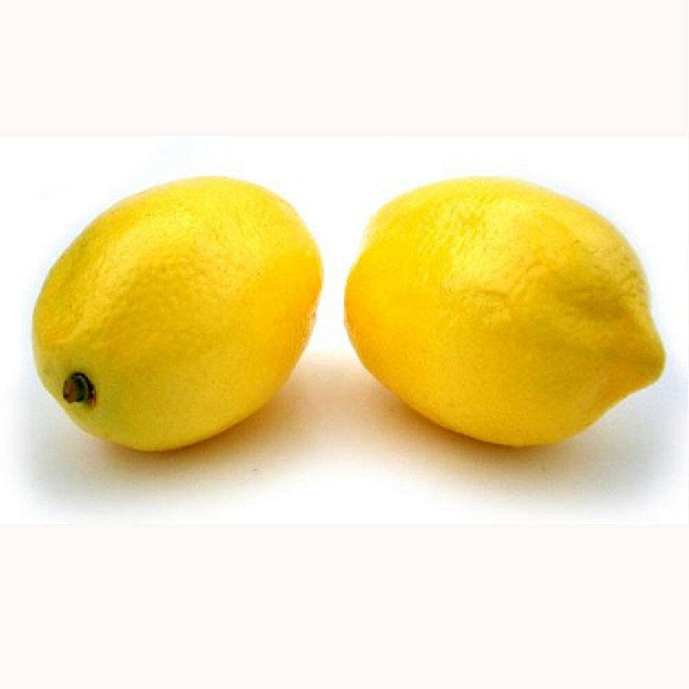 Unik Always 8Pcs Artificial Lemon Fruit Fake Theater Prop Staging Home Decor Lemons