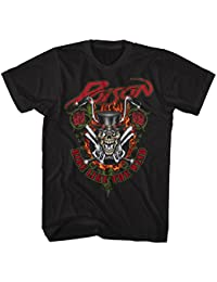 Poison - Ride Like The Wind - Adult T-Shirt