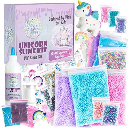 The Original Unicorn Slime Kit for Girls - Ultimate DIY Unicorn Slime Making Kit