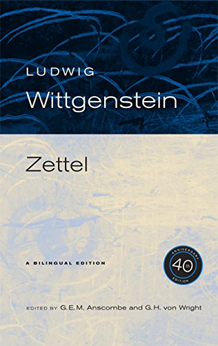 Zettel, 40th Anniversary Edition