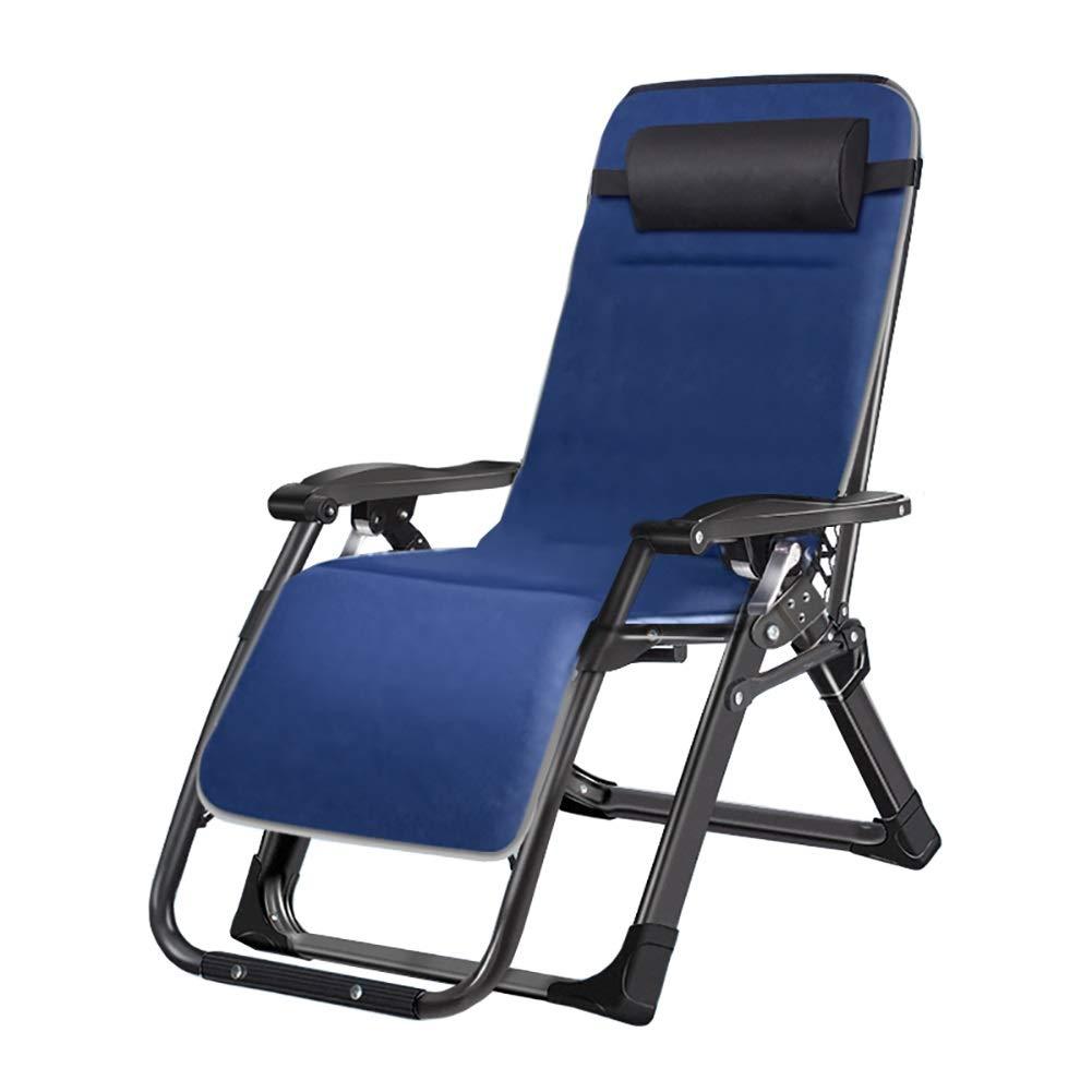 ラウンジチェア 特大屋外リクライニングチェアパティオラウンジチェア折りたたみ式、庭/ビーチ/プールのための無重力折りたたみ椅子、ダブルアルミ合金レンチロックバックル B07SKYWYF6