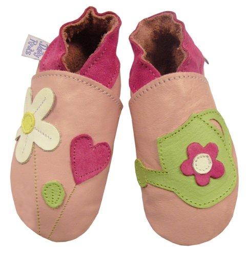Daisy Roots Chaussures pour bébé en cuir souple d'arrosoir (Taille 0à 6mois)