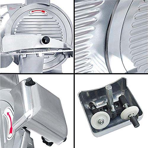 BestEquip Commercial Food Slicer 10 inch Blade 530 RPM Commercial Electric Meat Slicer 240W for Commercial and Home Use by BestEquip (Image #3)