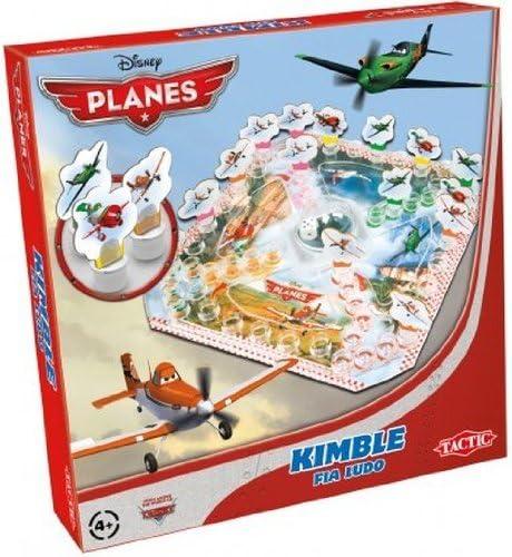 Disney Planes Tactic Kimble - Juego de Mesa (en inglés): Tactic Disney Planes Kimble: Amazon.es: Juguetes y juegos