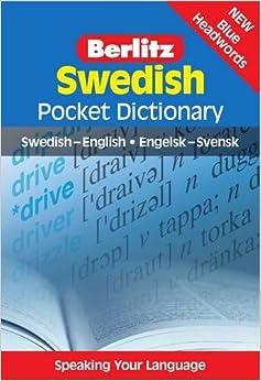 Swedish Pocket Dictionary: Swedish-English/Engelsk-Svensk (Berlitz Pocket Dictionary) (Swedish Edition)