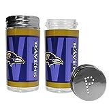 NFL Baltimore Ravens Salt & Pepper Shakers, Blue,