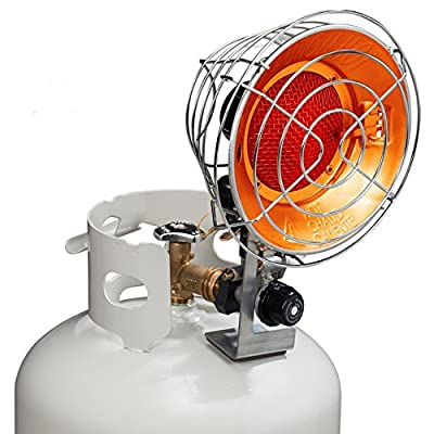 Avenger Tank Top Propane Heater - Single Burner, 15,000 BTU, Model# FBDTP15