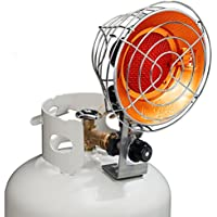 Avenger Infra-Red Tank Top Propane Heater - Single Burner, 15,000 BTU, Model# FBDTP15
