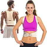 Thoracic Back Brace Posture Corrector - Magnetic Support for Back Neck Shoulder Upper Back Pain Relief Perfect...