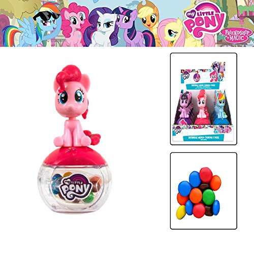 Black Starlight Sparkle (My Litlle Pony figures and candy inside My Little Pony Toys Figurines Playset&My Little Pony, Friendship is Magic, Cutie Magic Mark, Exclusive Princess Twilight Sparkle & Friends Mini Collection)