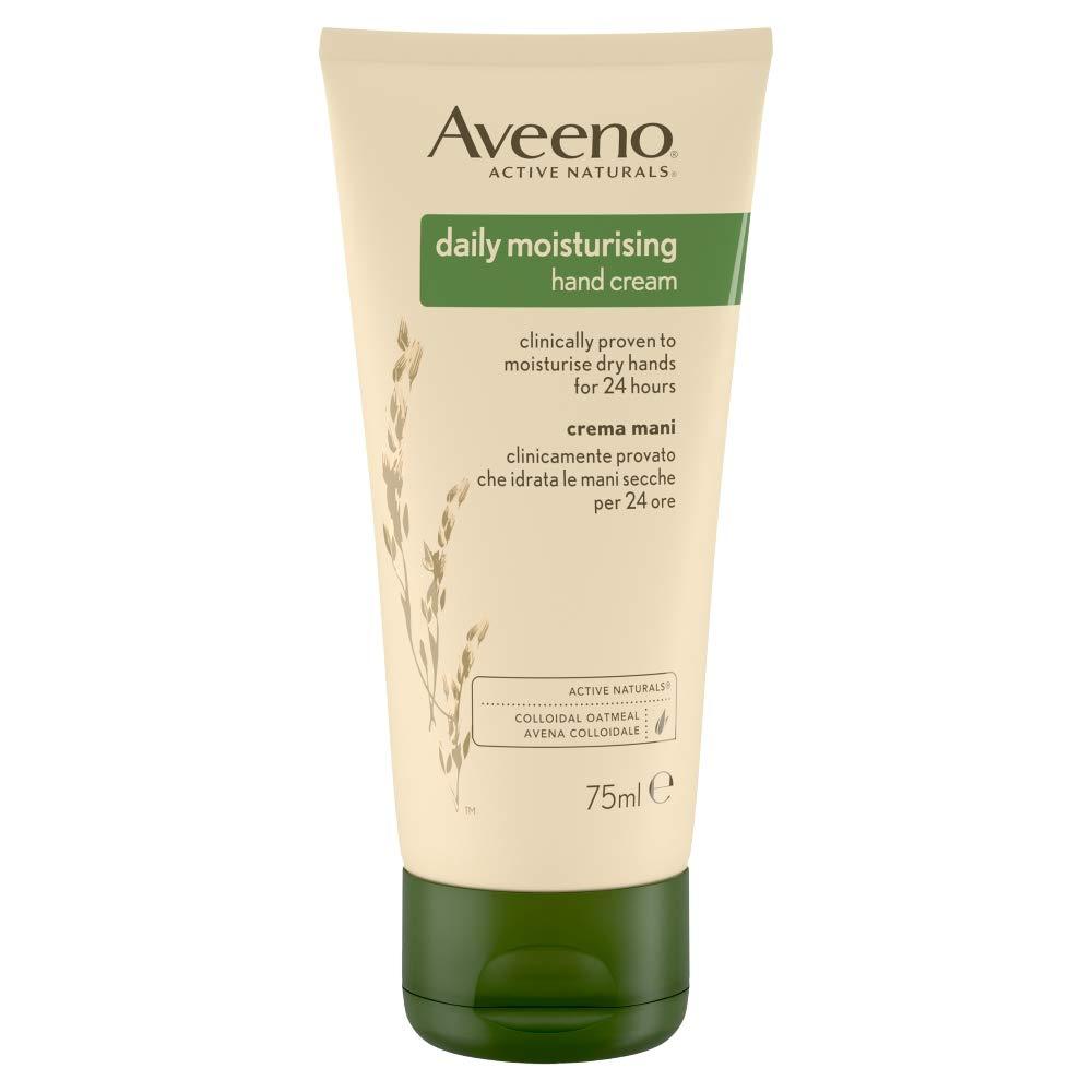 Aveeno Lotions Daily Moisturizing Lotion Hand Cream, 75ml Johnson and Johnson CA 6459100