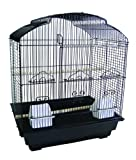 YML 3/8-Inch Bar Spacing Shell Top Small Bird Cage, 18-Inch x 14-Inch in