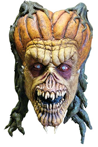 [Darkwalker 2 Vampire Scary Horror Deluxe Latex Adult Halloween Costume Mask] (2 Person Halloween Costume)