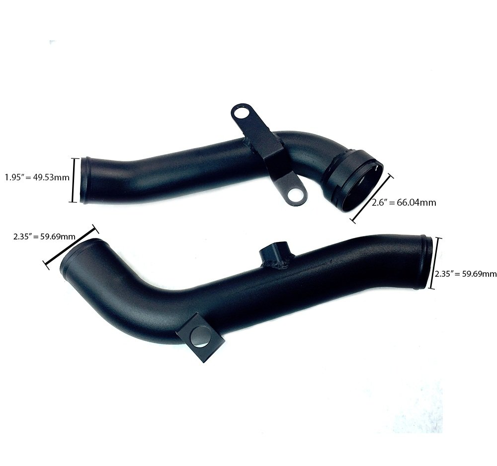 Volkswagen GTI 2.0 TSI 09-13 Air Charge & Turbo Discharge Pipe by Rev9
