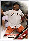 Baseball MLB 2016 Topps First Pitch #FP-20 IronE Singleton Actor NM-MT Marlins