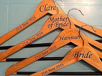 Personalised Vinyl Decalsstickers For DIY Coat Hangers Wedding - Diy vinyl wedding hangers
