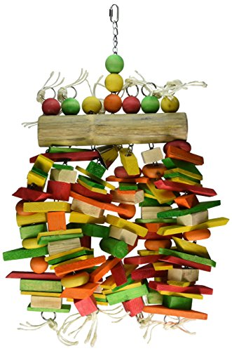 Paradise 16 by 27-Inch Bamboo Log Chew Toy, X-Large by Paradise