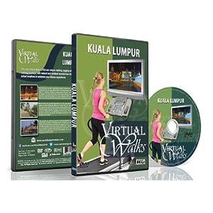 Virtual Walks - Kuala Lumpur for indoor walking, treadmill and cycling workouts