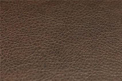 Recycled Eco Friendly Genuine Real Leather Hide Offcuts Chocolate Brown Textured Fire Retardant Leather Sofa Upholstery Fabric Made From Recycled