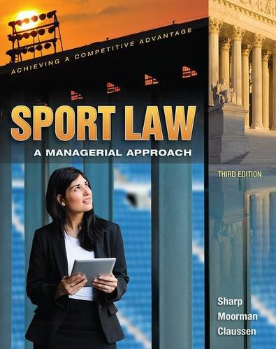 Sport Law:Managerial Approach  (Pb)