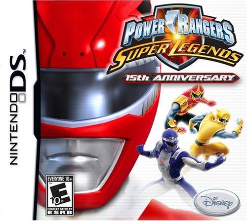 (Power Rangers Super Legends - Nintendo DS by Disney Interactive Studios)