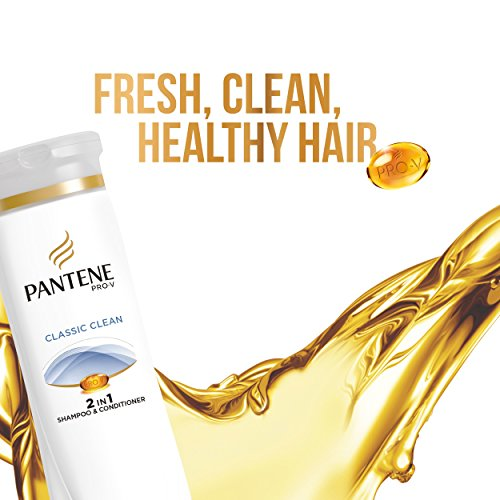 080878004065 - Pantene Pro-V 2 in 1 Shampoo & Conditioner, Classic Care, 12.6 Ounce carousel main 5