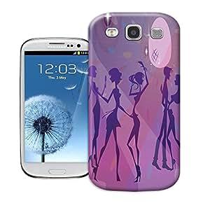 Hard Plastic Samsung Galaxy S3 Case, Fate Inn-463.Girls (1)-Samsung Galaxy S3 case