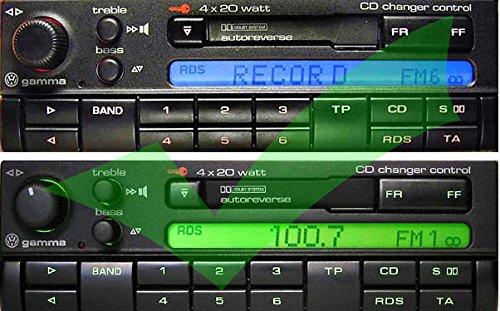 compatibile con Radio VW Gamma 4 macchina lettore cd convertitore musica Yatour YTM06-VW10 Adattatore USB,SD,AUX MP3