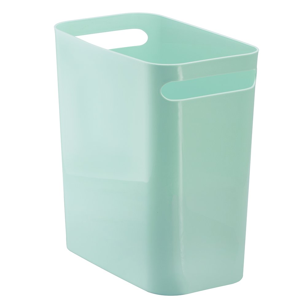 Amazon.com: InterDesign Una Wastebasket Trash Can 12\