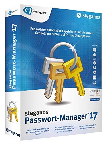 Steganos wachtwoordmanager 17