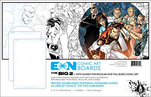 eons-the-big-2-hd-plate-comic-art-boards-12-pages